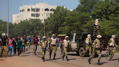 Burkina Faso chaos: Military backs army officer's claim to power