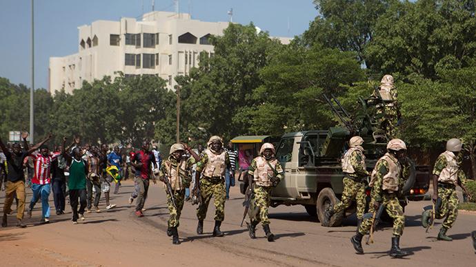 Burkina Faso army announces dissolution of govt, parliament