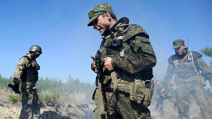 Ukrainian rebels urge OSCE to convince Kiev to abide by peace agreement