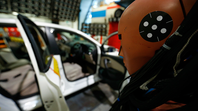 ​Crash dummies put on weight as obese Americans 'more likely to die' in accidents