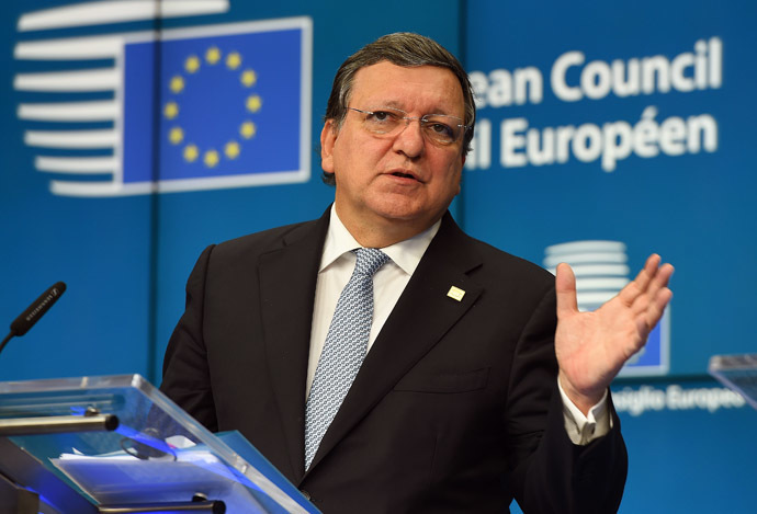 European Commission President, Jose Manuel Barroso. (AFP Photo)