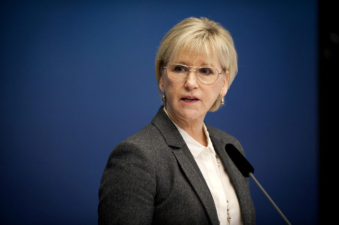 Sweden's Foreign Minister Margot Wallstrom (Reuters/Annika AF Klercker/TT News Agency)