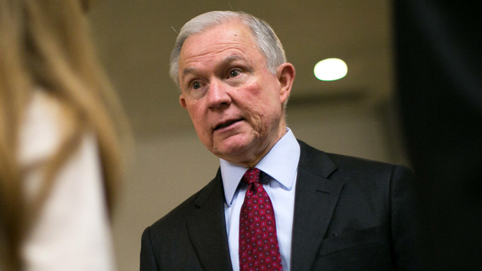 Sen. Jeff Sessions (R-AL) (Drew Angerer/Getty Images/AFP)