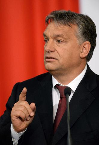 Hungarian Prime Minister Viktor Orban (AFP Photo/Attila Kisbenedek)