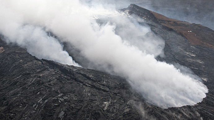 National Guard deployed in Hawaii as Kilauea lava flows through town