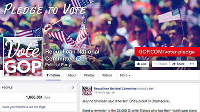 Facebook boosted US election turnout via psychology experiment, company reveals