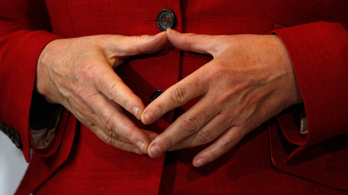 Merkel's diamond: 'Chancellor's trademark' hand gesture gets its own emoticon