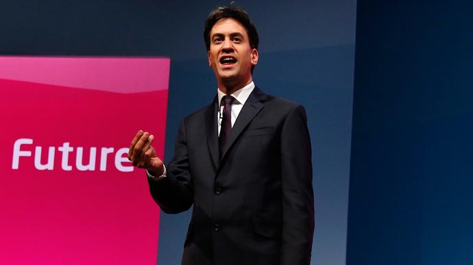 Ed Miliband (Reuters / Suzanne Plunkett)
