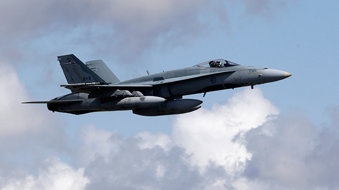 Canada carries out its first airstrikes against Islamic State