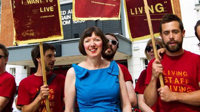 TUC General Secretary, Francis O'Grady. (Image from facebook.com/francesogradytuc)