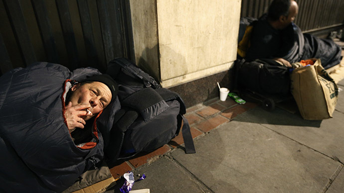 'Wrong kind of recovery': Wage inequality, austerity and homelessness prevail