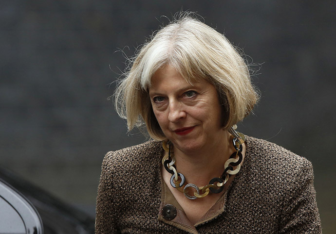 Britain's Home Secretary Theresa May. (Reuters/Luke MacGregor)
