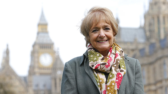 Margaret Hodge, Labour Party Member of Parliament and chairwoman of the Public Accounts Committee (PAC). (Reuters/Andrew Winning)