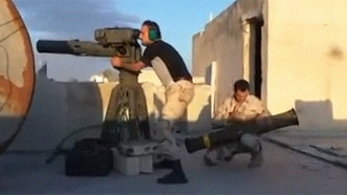 Al-Qaeda reportedly seizes US anti-tank rockets after defeating rival Syrian rebels