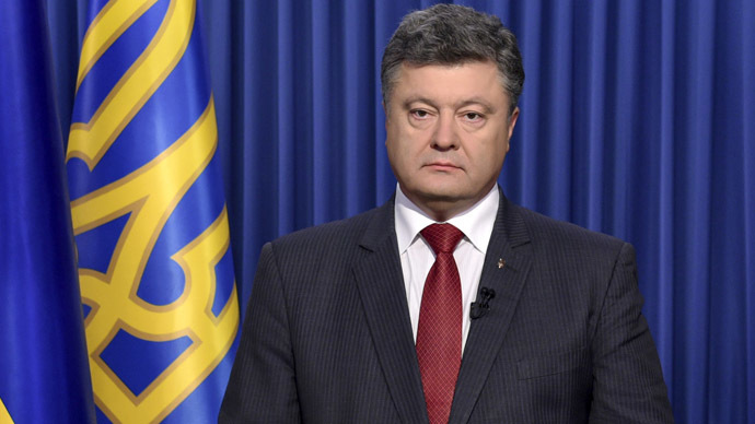 Poroshenko considers canceling law on special local governance of Donbass