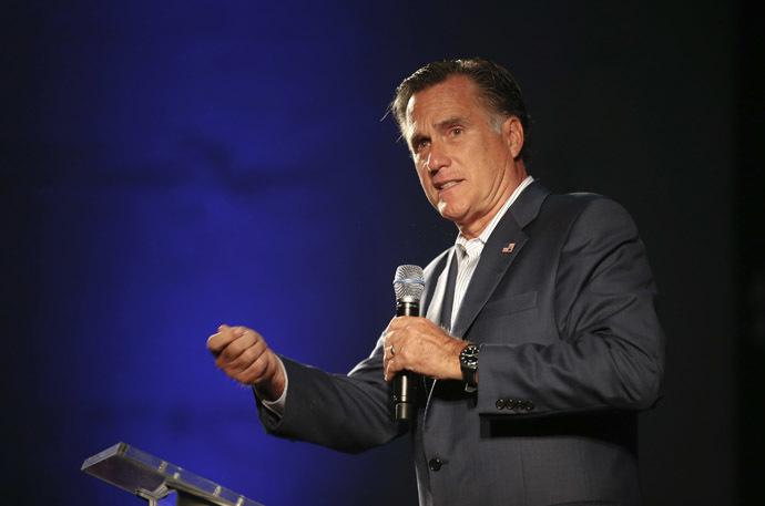 Former Massachusetts governor Mitt Romney (Reuters/Chris Keane)