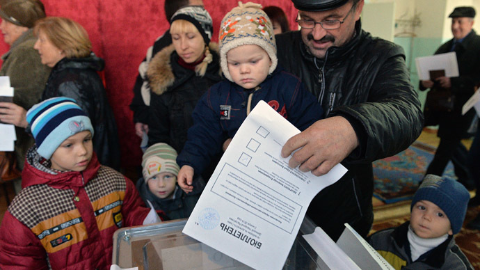 ​Donbass election day ushers in 'the real ceasefire'