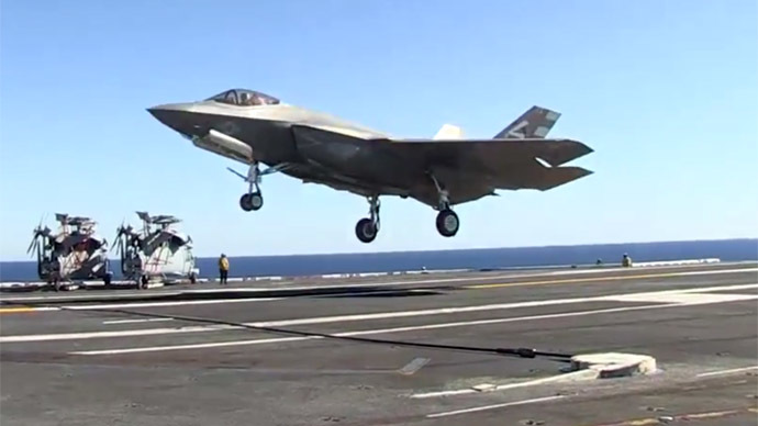 'Landmark event': F-35C successfully lands aboard aircraft carrier (VIDEO)