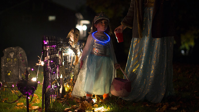 Trick-not-treat: 8yo California girl given crystal meth with Halloween candy