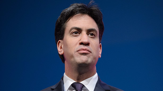Labour Party leader, Ed Miliband. (AFP Photo/Leon Neal)