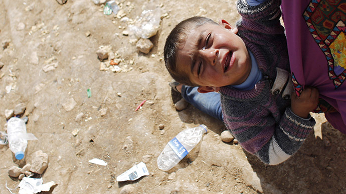 'War crime': ISIS tortured Kurdish child hostages