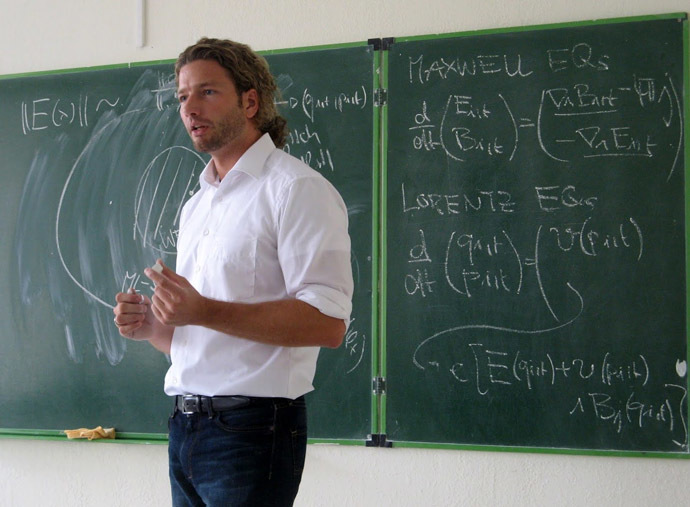 Professor Dirk-André Deckert (Photo from www.math.ucdavis.edu)
