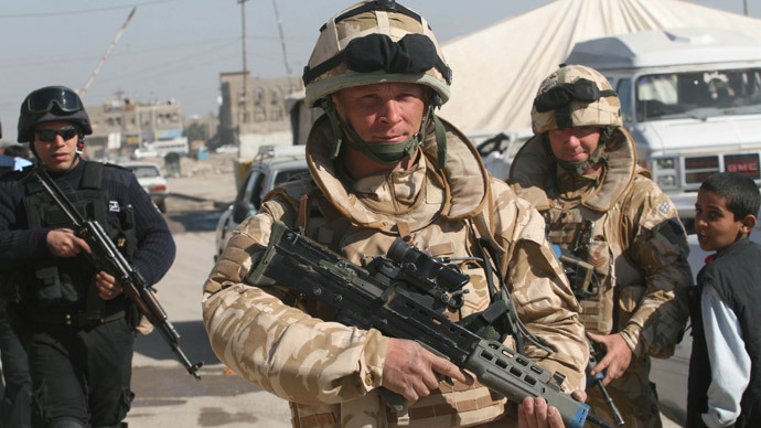 Back to Iraq: UK troops return to combat ISIS