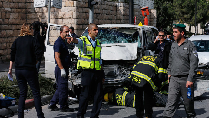 1 Israeli killed, 17 injured in two 'run-over' terrorist attacks