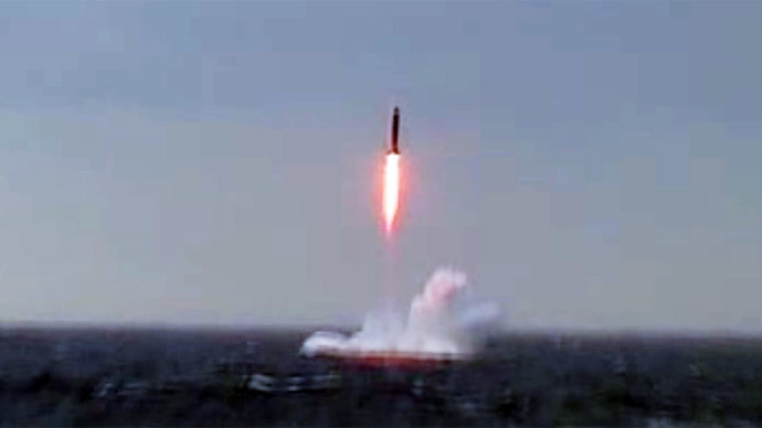 ​Submerged Russian nuclear sub test-fires strategic Sineva missile