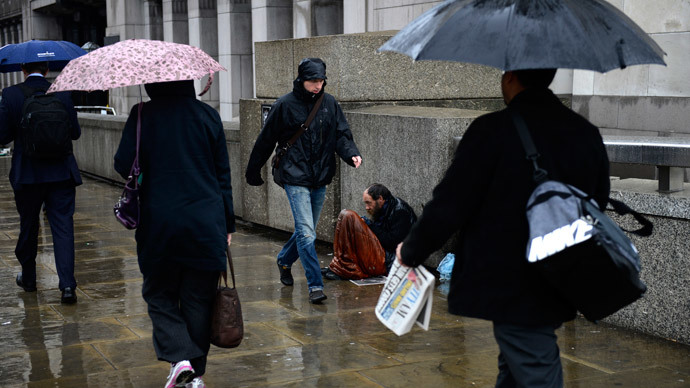 ​300,000 more 'absolute poor' in Britain than officially recognized