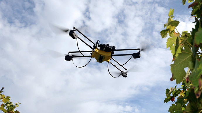 Mailbox of the future: Drone delivery nets may soon replace postmen