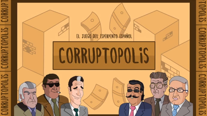 'Enough is enough!' Corruptopolis board game satirizes sleazy Spanish politicians