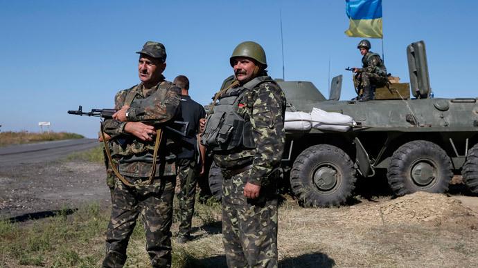 Kiev declares passport control on border with rebel-held regions