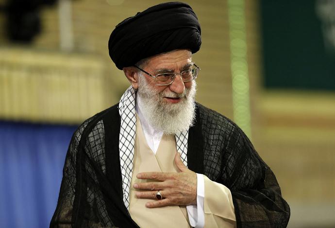 Ayatollah Ali Khamenei (AFP Photo / Iranian Supreme Lleader's Website / HO)