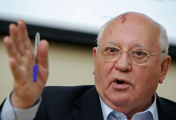 The first and the only President of the USSR Mikhail Gorbachev (RIA Novosti / Valeriy Melnikov)
