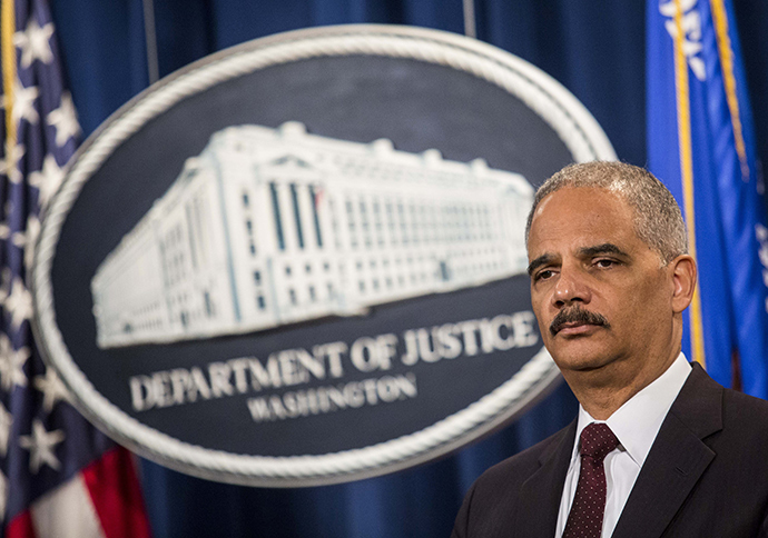 Attorney General Eric Holder (AFP Photo)