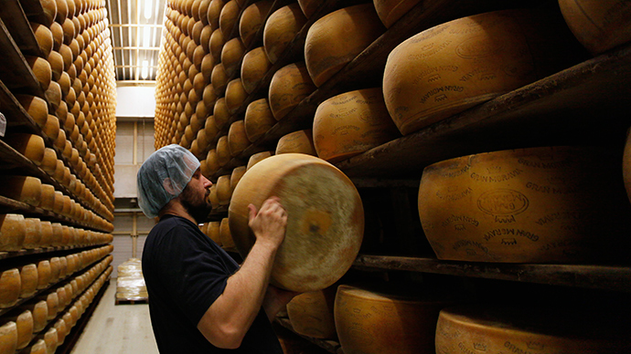 Charity cheese: Denmark company donates 15 tons to homeless in face of Russia ban