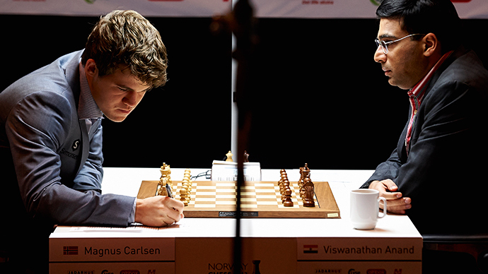World chess champ Magnus Carlsen faces tough title challenge in Sochi