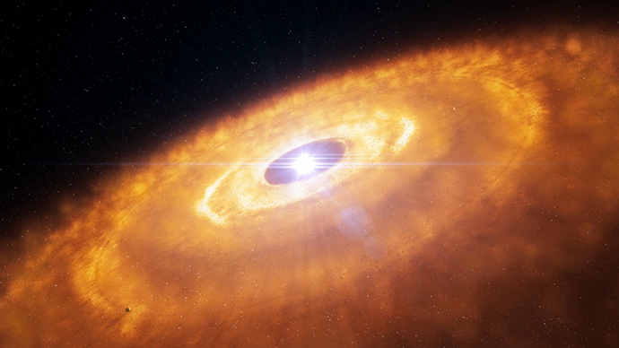 'Revolutionary' planet formation around star captured by astronomers (PHOTOS, VIDEO)