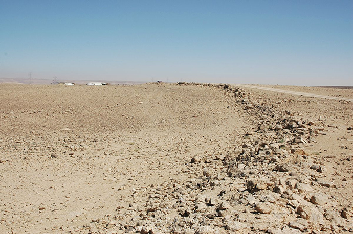 The remains of the circles are hard to spot from the ground (Photo: APAAME)