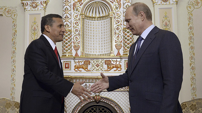 Russia and Peru agree to boost food imports, may share GLONASS