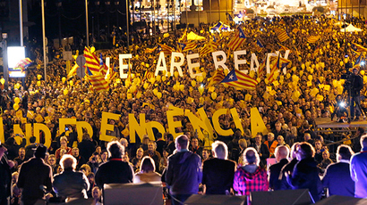 80% of Catalans say 'Yes' to independence in symbolic 'referendum'