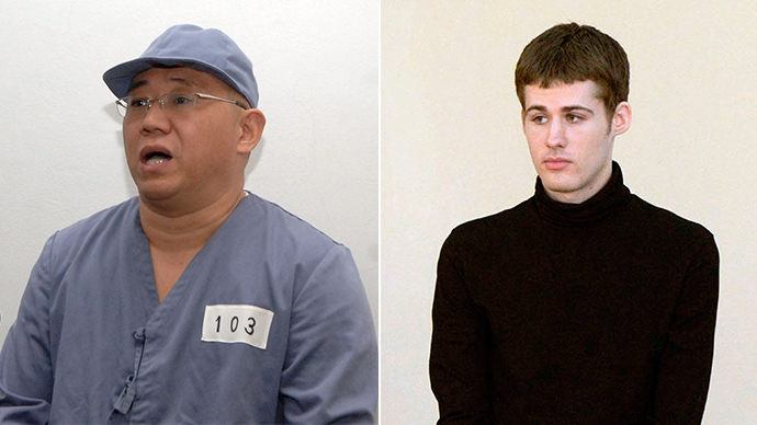 2 Americans released from N. Korea detention head home – US officials
