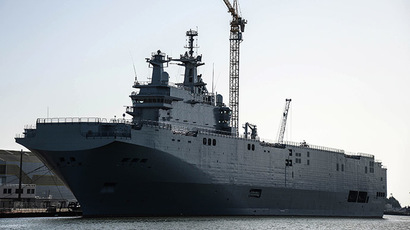 ​Moscow to seek damages if Mistral ship not delivered by end Nov - source