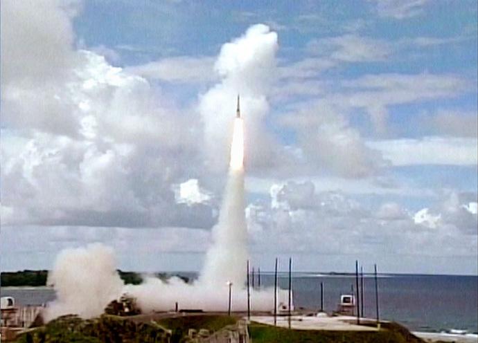 Minuteman intercontinental ballistic missile (Reuters)