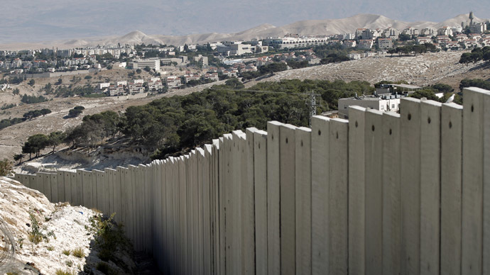 A West Bank village near Jerusalem (AFP Photo/Ahmad Gharabli)