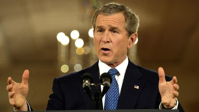 ​Bush has no regrets about Iraq invasion, except rise of ISIS