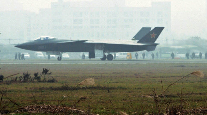 Chinese J-20 stealth fighter (Reuters)