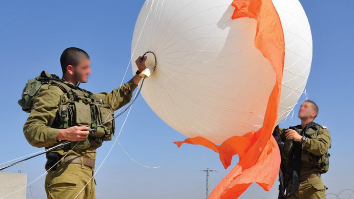Sky eyes: Spy balloons give Israel intelligence edge in West Bank