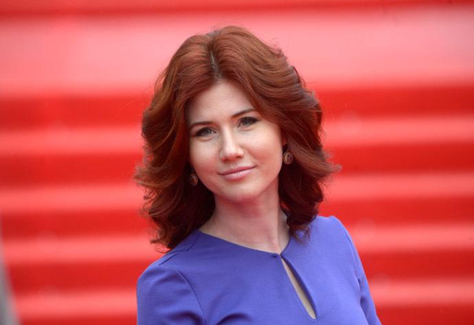 TV anchor Anna Chapman (RIA Novosti/Grigoriy Sisoev)
